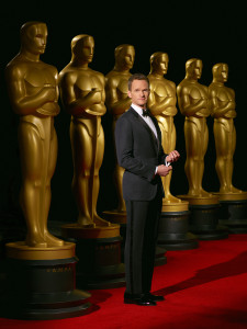Neil Patrick Harris hosts the Oscars Sunday night beginning at 7 p.m. on ABC. (Photo: Academy of Motion Picture Arts and Science)