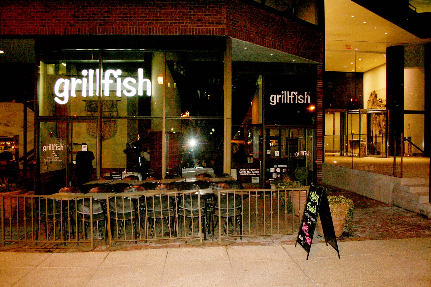 All Seafood Served At Grillfish Is Sustainable Dc On Heels