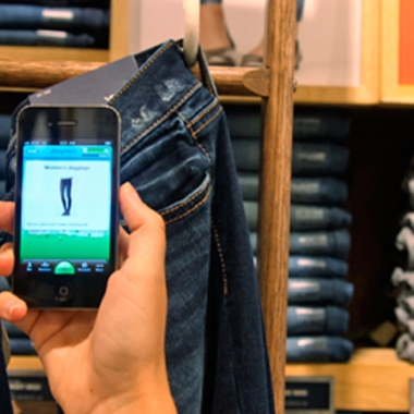 Smart phone apps can help you save money at the department store or grocery store. (Photo: Shop Kick)