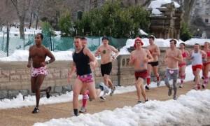 Cupid's Undies Run raises funds for Children's Tumor Foundation. (Photo: Rohan)