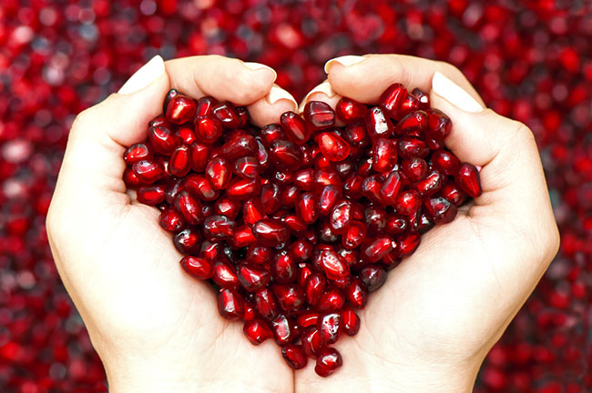 Pomegranates increase genital sensitivity. (Photo: Shutterstock)