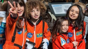 Learn about women in aviation and space exploration this Saturday at  the Steven F. Udvar Hazy Center. (Photo: Smithsonian)