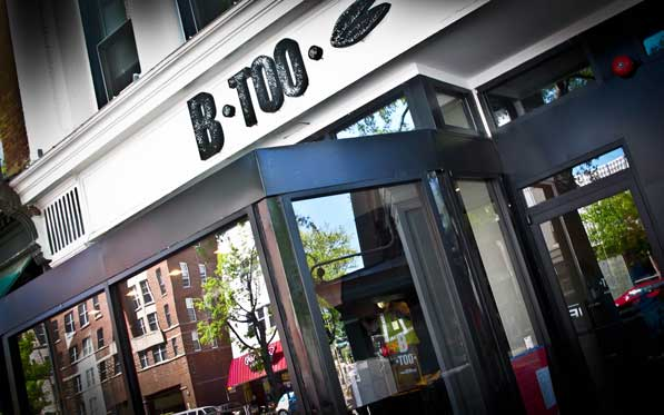 B Too celebrates its second anniversary with a prix-fixe wine dinner. (Photo: Borderstan)