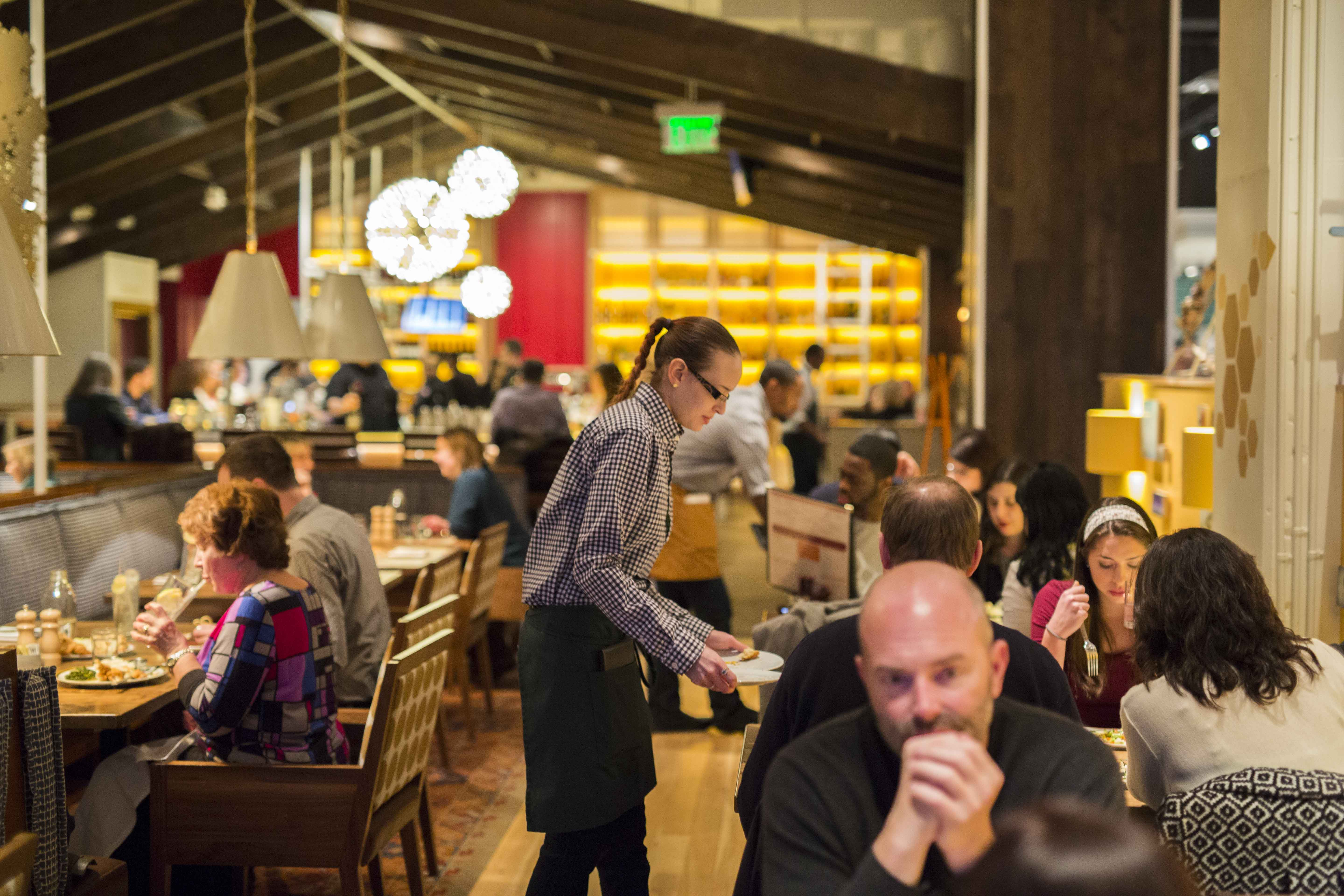 More than 1,000 diners visited Founding Farmers Tysons on opening day, and guests have been averages 1,200 daily. (Photo: Founding Farmes)