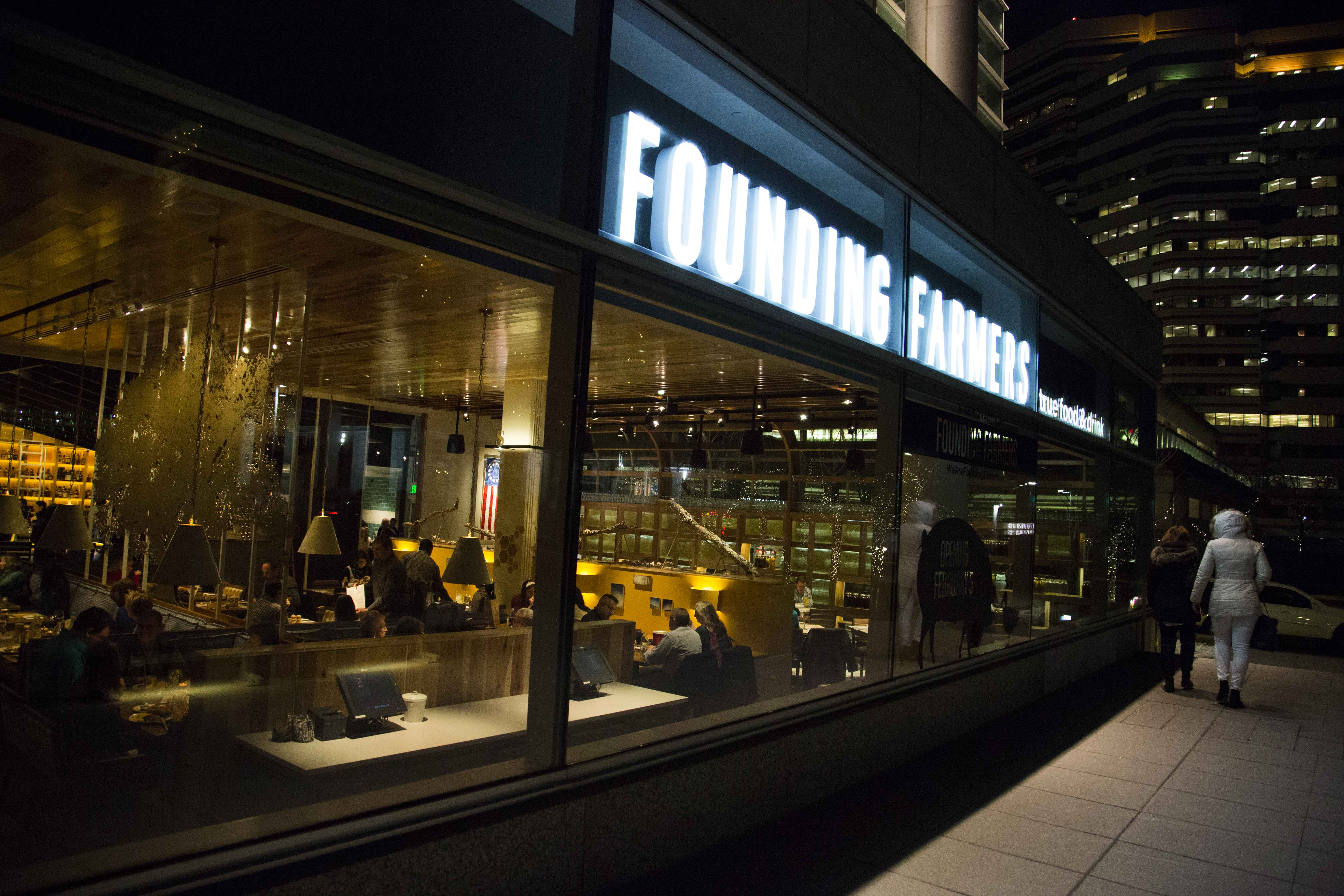 Founding Farmers Tysons made $300,000 a week in its first month. (Photo: Founding Farmers)