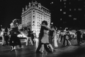 <em>Tango at Freedom Plaza</em> by Messay Shoakena was on of five best of show winners at Exposed D.C. (Photo: Messay Shoakena)