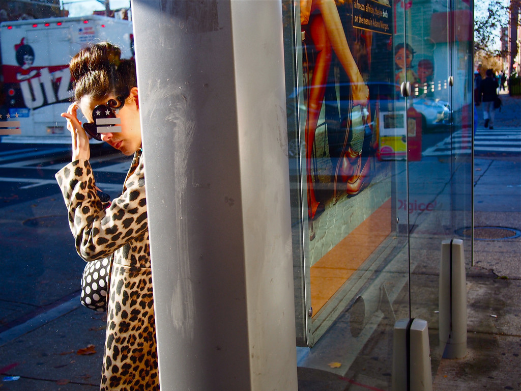 """""""UTZ: Adams Morgan Bus Stop"""" is one of five Best of Show winners at this year's Exposed D.C. (Photo: Denzil Spicer)"""