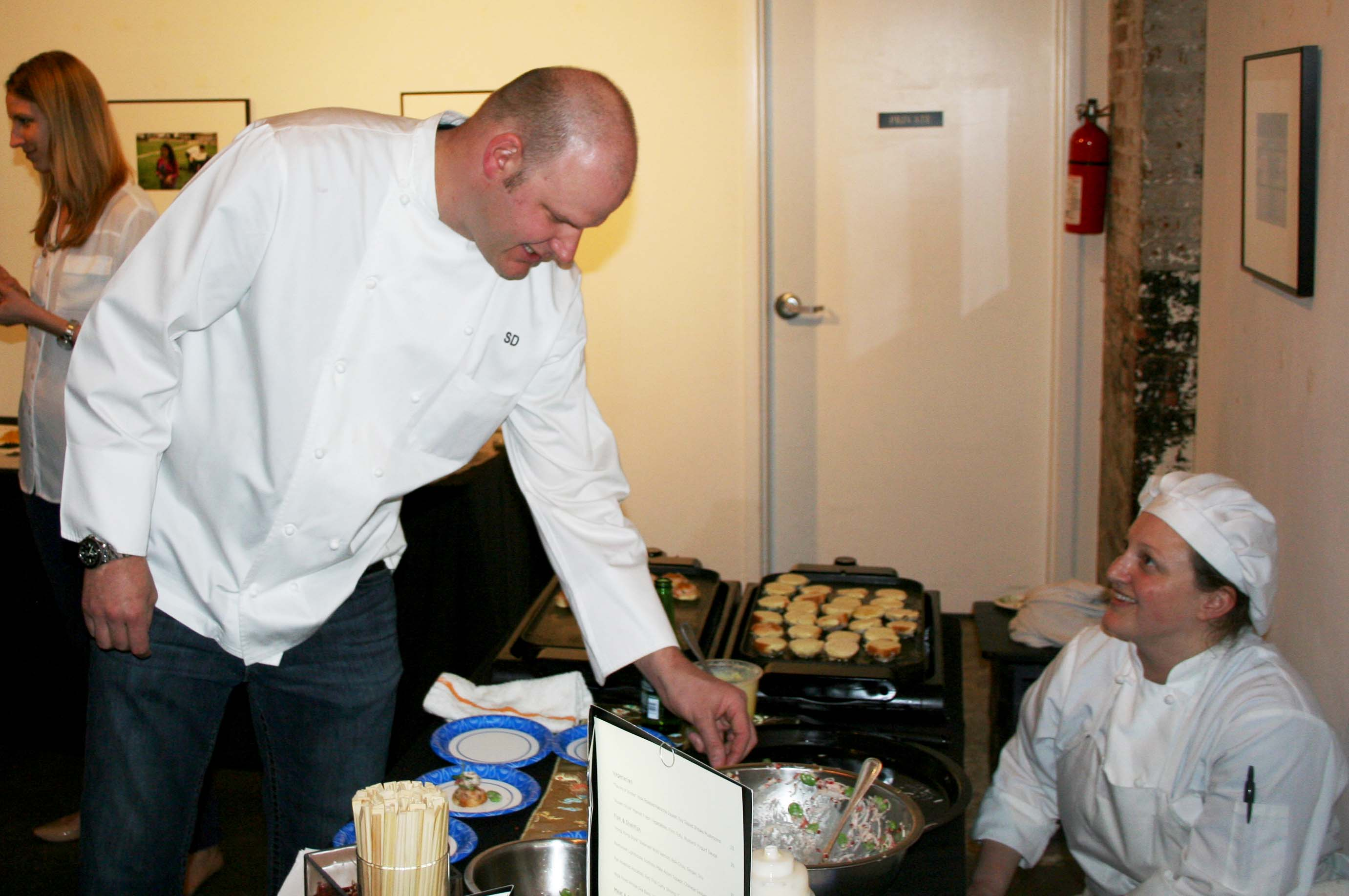 Chef Scott Drewno from The Source will defend his 2013 and 2014 titles. (Photo: Mark Heckathorn/DC on Heels)