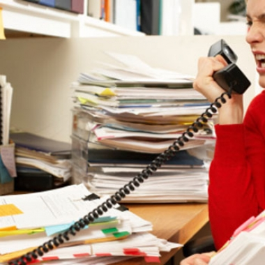 Stress at work can affect your health. (Photo: ThinkStock)