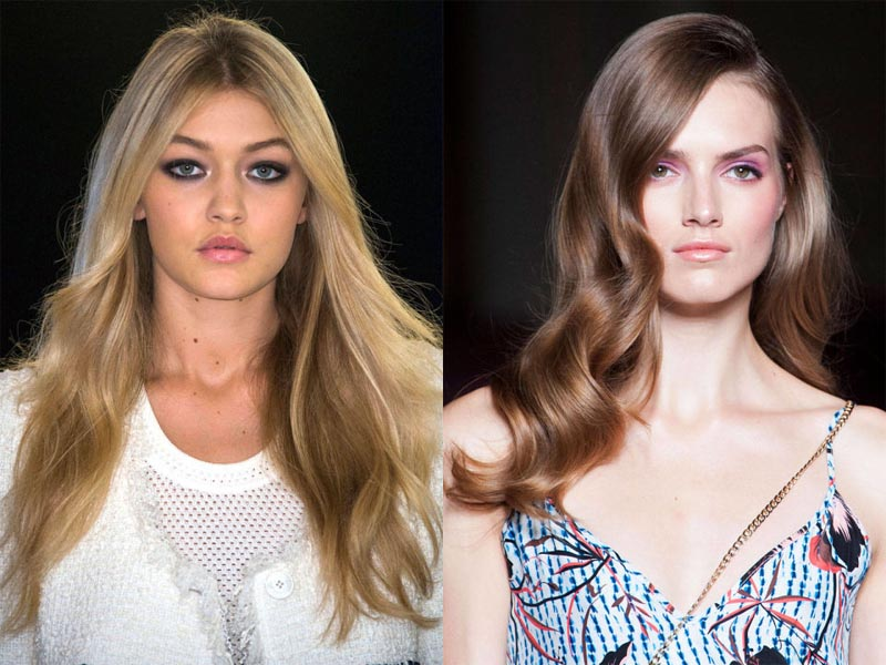 Relaxed waves are easy to style and easy to wear (Photos: Imaxtree)