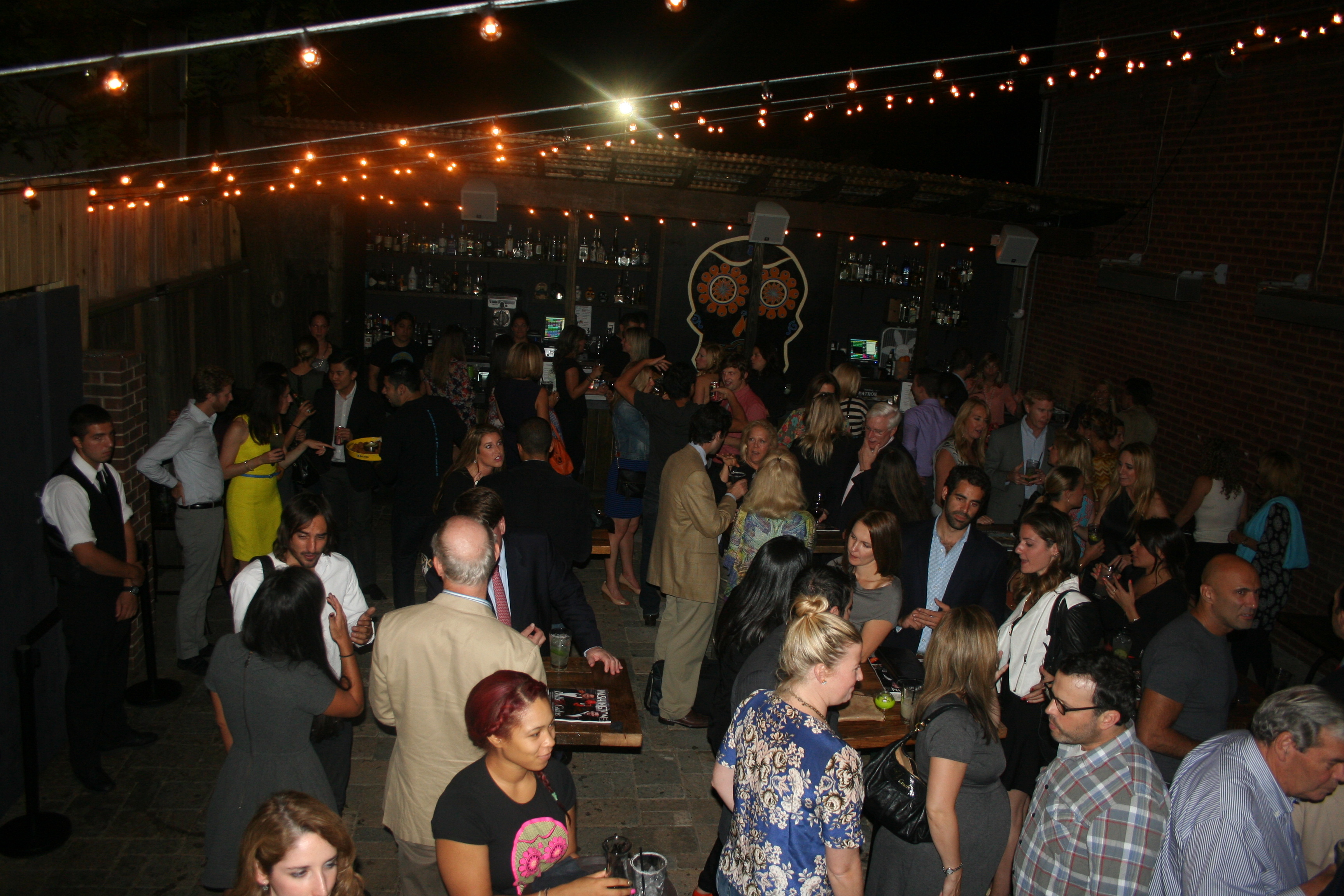 El Centro D.F. Georgetown's patio opens Tuesday. (Photo: Mark Heckathorn/DC on Heels)