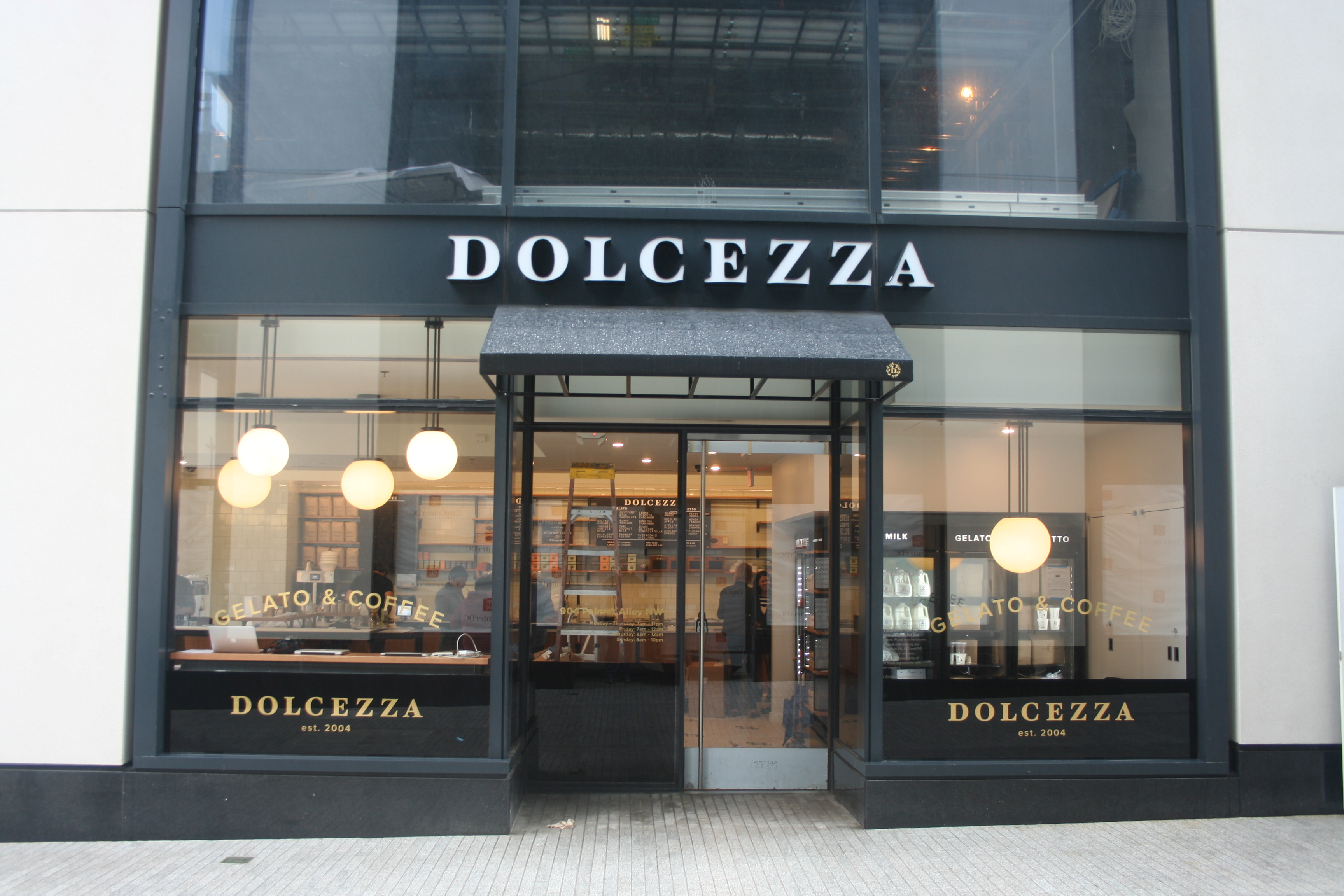 Dolcezza will celebrate the grand opening of its CityCenterDC location Sunday with free mini cones. (Photo: Mark Heckathorn/DC on Heels)
