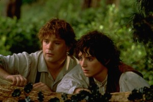 "Sean Astin (left) and Elijah Wood in ""The Lord of the Rings: The Fellowship of the Ring."" (Photo: New Line Productions)"