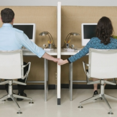 Dating at work is harder than you'd think. (Photo: www.eharmony.com.au)