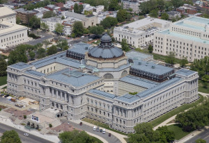 The Library of Congress' Thomas Jefferson Building. (Photo: Carol M. Highsmith)
