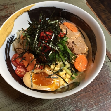 Daikaya's Hiyashi cold ramen dish has returned to the menu for summer. (Photo: Daikaya)