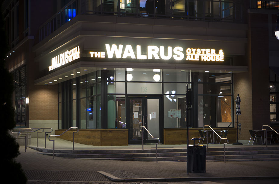 The Walrus Oyster & Ale House is a seafood-centric restaurant in National Harbor inspired by the Chesapeake Bay and Eastern Shore. (Photo: Walrus Oyster & Ale House)