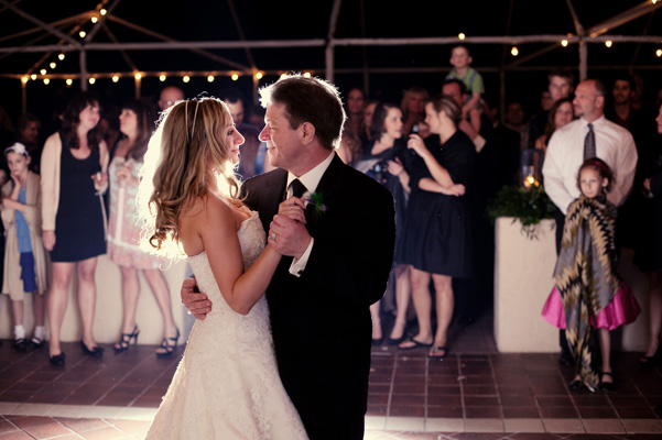 It's worth rushing to make that father-daughter dance. (Photo: www.amandadouglasevents.com)