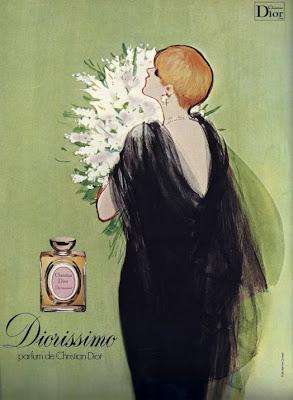 Vintage ad for Diorissimo (Image: Gruau/Dior Beauty)