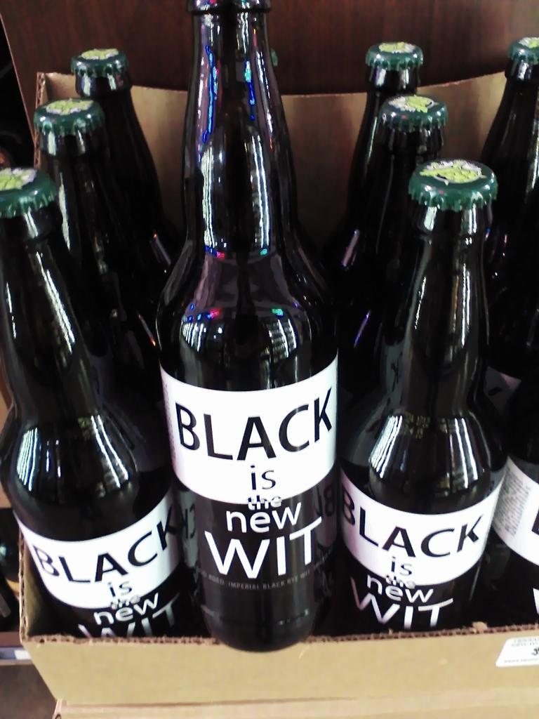 City Tap House will host a release party for Terrapin Beer Co. and New Belgium Brewing Co. 's new collaboration brew, Black is the new Wit on Monday. (Photo: Pops! Wines and Spirits)