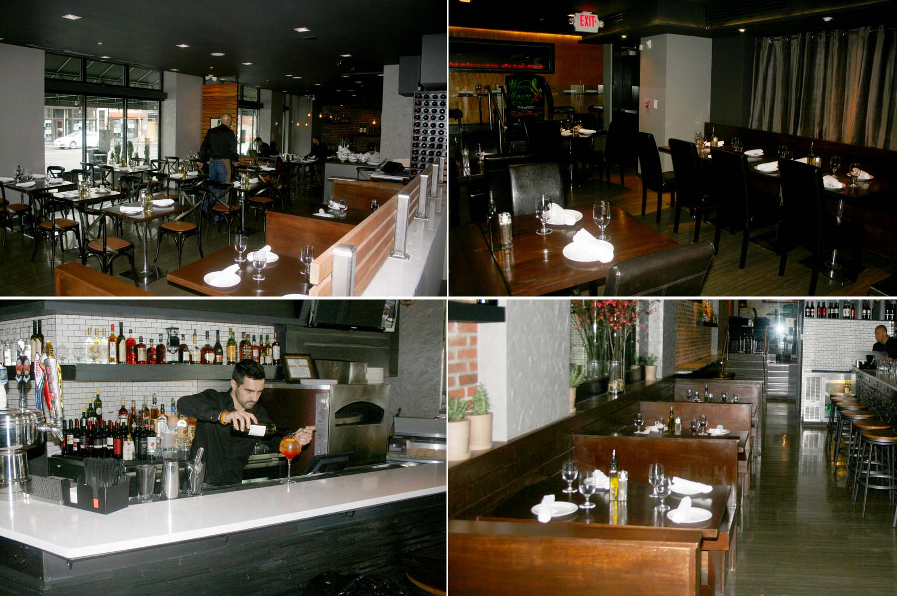 Sette Osteria on 14th Street NW has been remodeled from the former M Cafe Bar from the same owner. (Photos: Mark Heckathorn/DC on Heels)Sette Osteria on 14th Street NW has been remodeled from the former M Cafe Bar from the same owner. (Photos: Mark Heckathorn/DC on Heels)