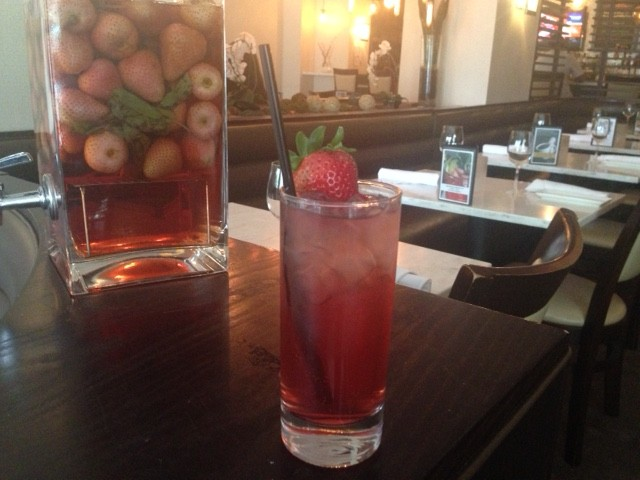 The Stormy Garnet is one of Nage Bistro's new spring cocktails. (Photo: Nage Bistro)