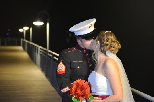 Most military couples live a fast-paced lifestyle. (Photo: www.wcti12.com)
