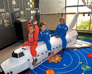 Explore space and meet an astronaut at the National Air & Space Museum's Space Day on Saturday. (Photo: National Air & Space Museum)