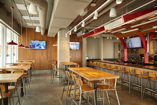 Bonchon in Navy Yard seats about 200 in the lounge and dining room. (Photo: Jeff Elkins)