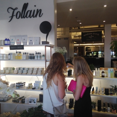 Follain's new D.C. shop at Union Market. (Photo: Lia Phipps/DC on Heels)
