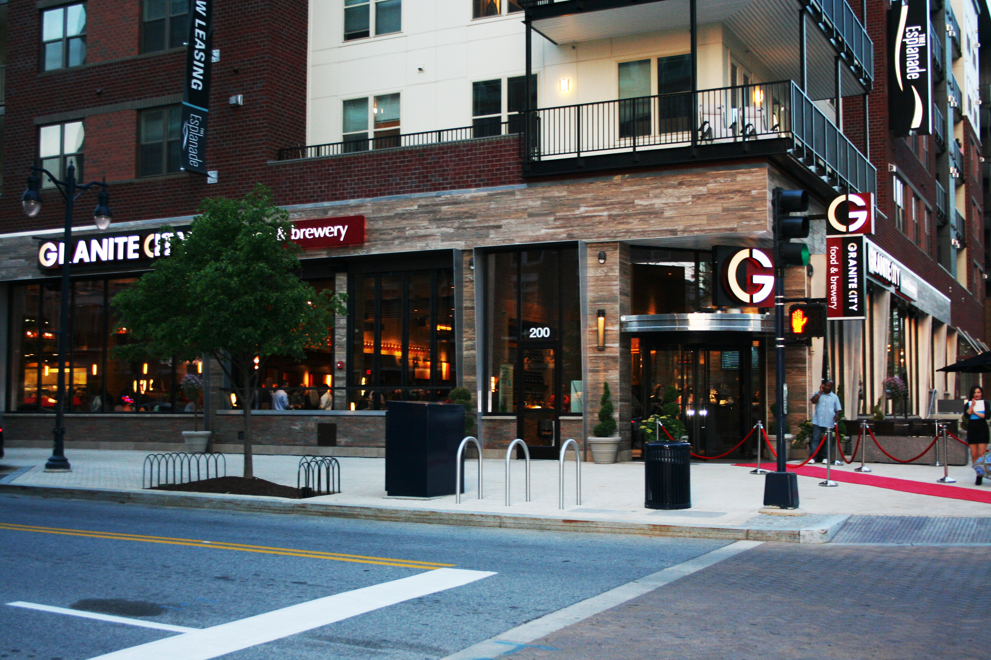 Granite City Food & Brewery opens today in National Harbor. (Photo: Mark Heckathorn/DC on Heels)