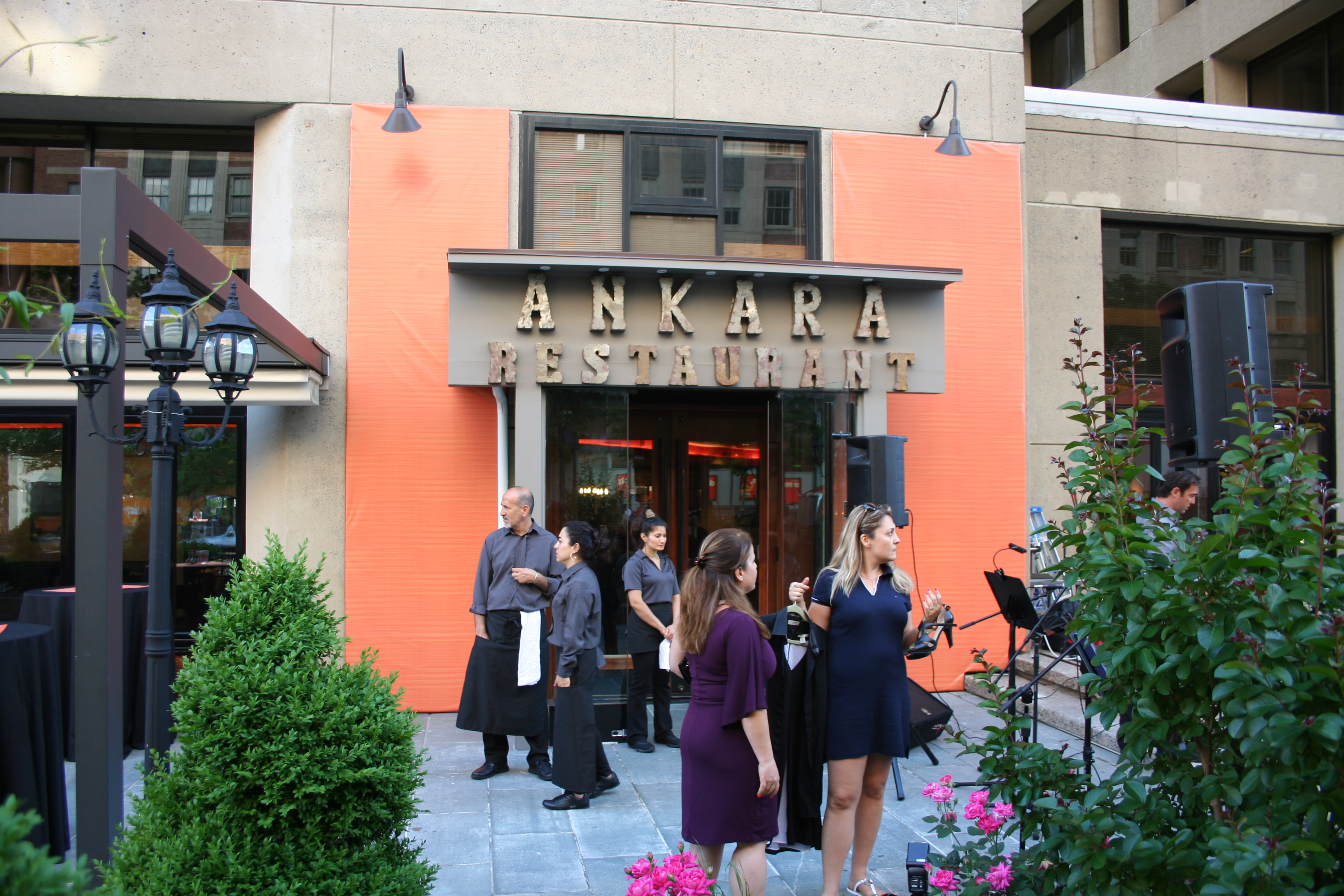 Ankara Turkish Restaurant opens today across from the Dupont South Metro station. (Photo: Mark Heckathorn/DC on Heels)