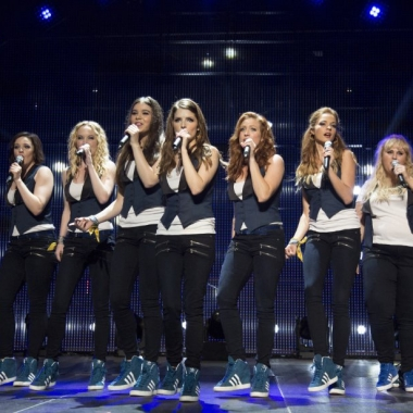 The Barden Bellas performing in world competition. (Photo: Universal Pictures)