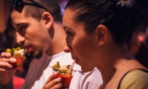 Guests sample Bloody Marys at the Bloody Mary  Festival. (Photo: The Bloody Mary Festival)