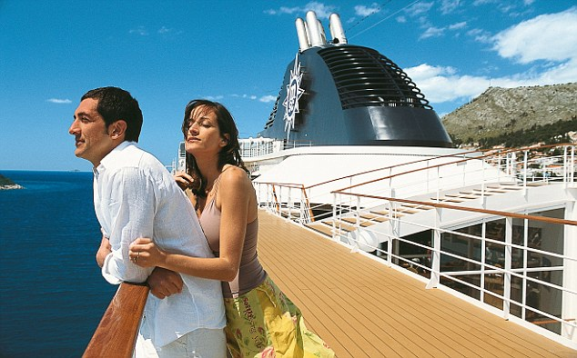 A cruise lets you get away from everything except your partner. (Photo: Daily Mail)