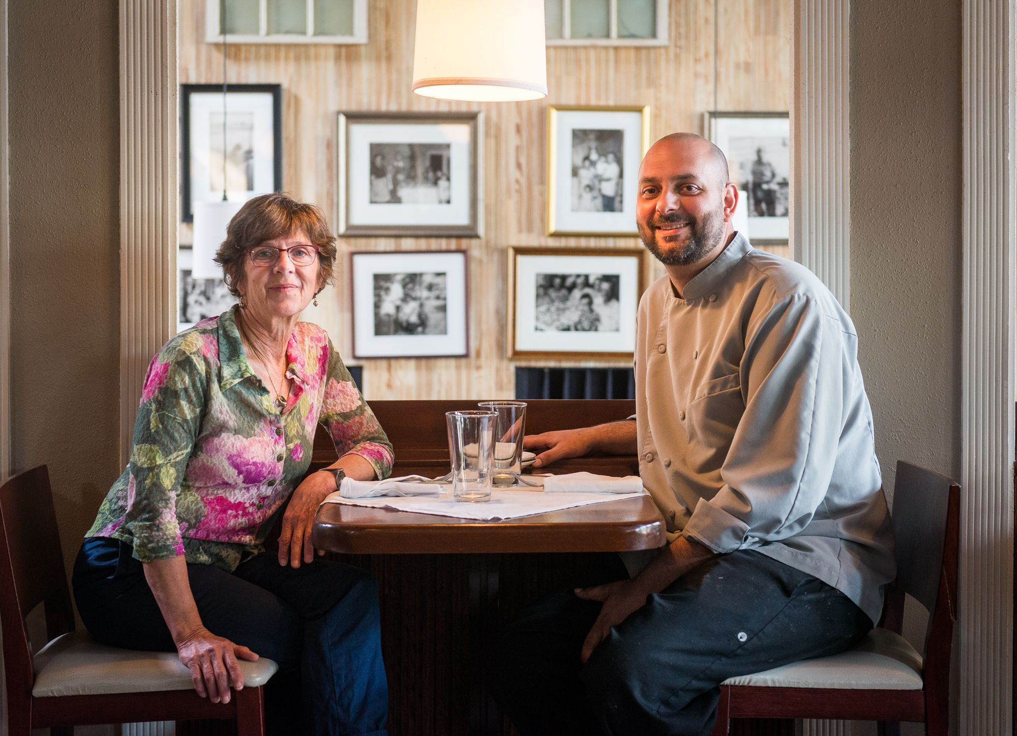 Ann Cashion (right) and  John Manolatos, current chef and co-owner of Cashion's Eat Place in Adams Morgan, will celebrate the restaurant's 20th anniversary on May 24. (Photo: R. Lopez/Cashion's Eat Place/Twitter)Ann Cashion (right) and  John Manolatos, current chef and co-owner of Cashion's Eat Place in Adams Morgan, will celebrate the restaurant's 20th anniversary on May 24. (Photo: R. Lopez/Cashion's Eat Place/Twitter)