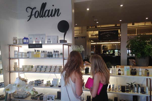 Follain's new D.C. shop at Union Market. (Photo: Lia Phipps/DC on Heels)