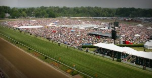 Head up to Pimlico Racetrack in Baltimore for the Preakness and InfieldFest. (Photo: Pimlico)