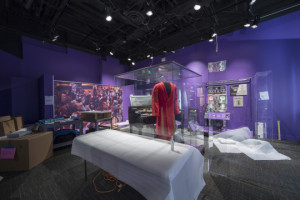 A behind-the-scenes look at the installation of the LENS exhibition.   (Photo: Michael Barnes/Smithsonian Institution)