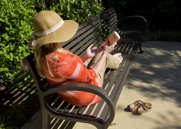 In addition to sunscreen, a wide-brimmed hat, sunglasses with UV protection and protective clothing can help prevent skin cancer. (Photo: Kevin Hudson/MSU Ag Communications)