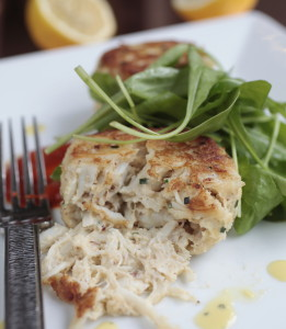 Crab cakes are on the crab tower during DC Coast's Saturday crab fest. (Photo: DC Coast)