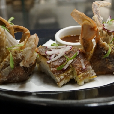 Sushiko is serving fried softshell whale crabs.. (Photo: Sushiko)