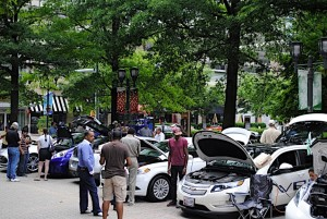 Sports and classic cars will be on display at Crystal Car Sunday. (Photo: Crystal City BID)