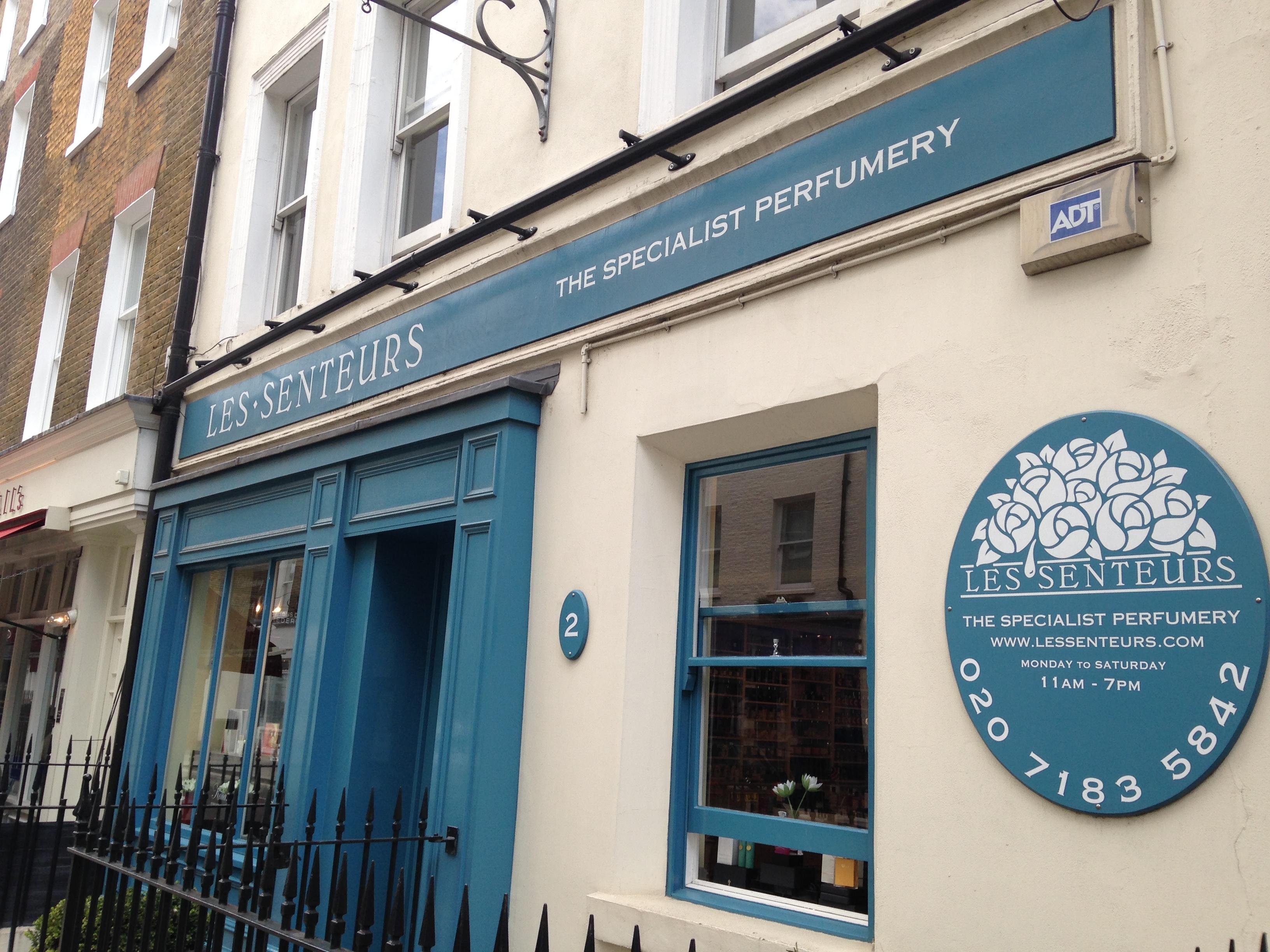 Les Senteurs, London's oldest niche perfumery (Photo: Lia Phipps/DC on Heels)