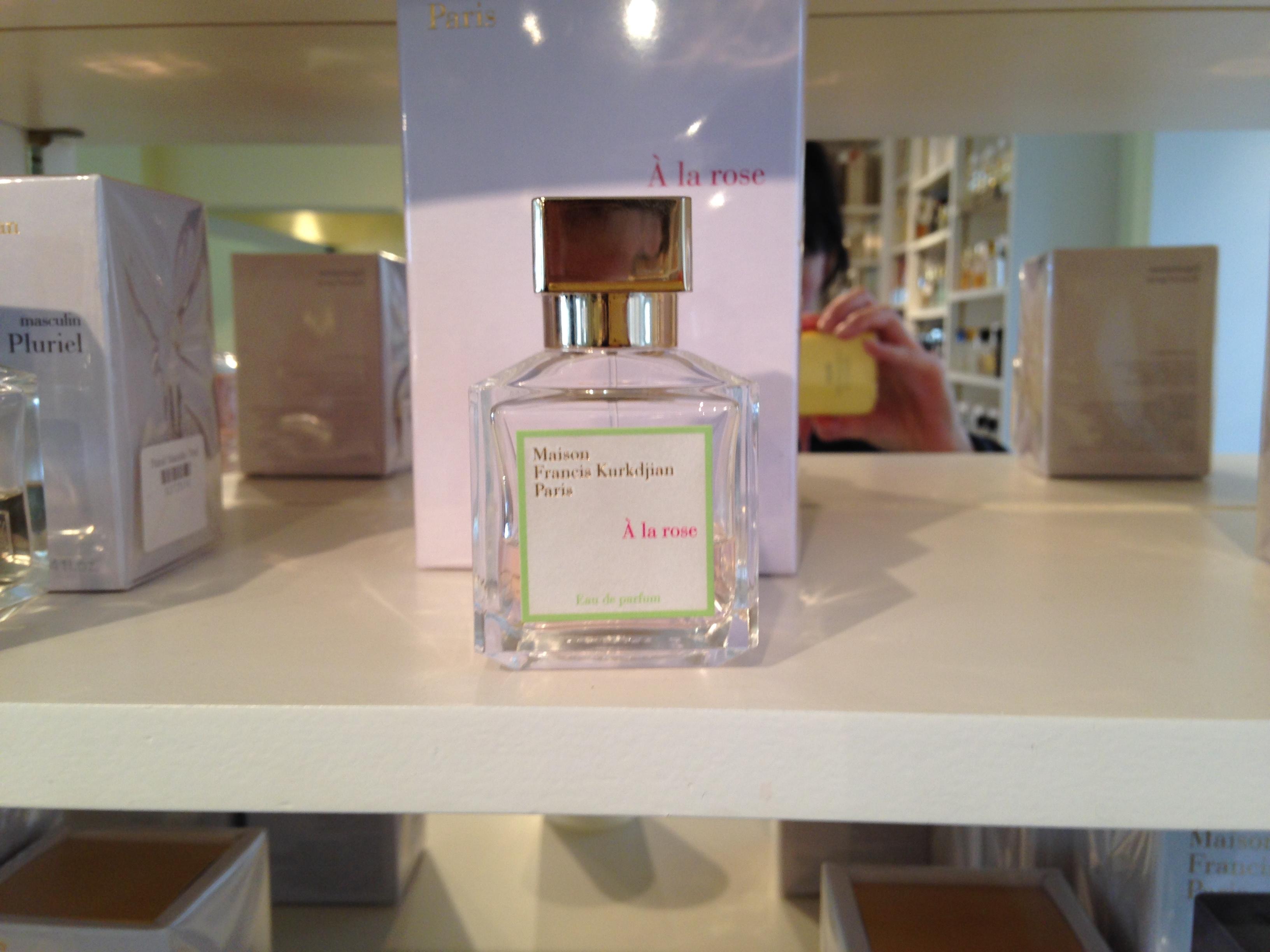 A la Rose perfume (Photo: Lia Phipps/DC on Heels)