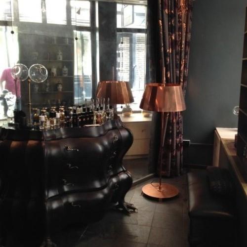 The interior of Avery Fine Perfumery (Photo: Lia Phipps/DC on Heels)