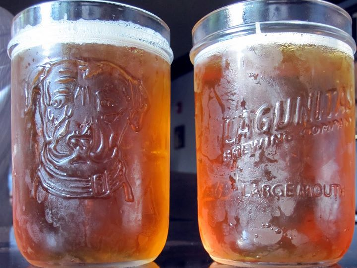 Any dad who orders a draft beer at Old Town Pour House on Father's Day will take home a free Lagunitas Mason Jar beer glass. (Photo: Old Town Pour House)