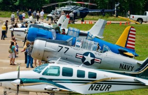 See more than 50 airplanes up close this Saturday at the Smithsonian Air and Space Museum's Steven F. Udvar-Hazy Center. (Photo: Smithsonian Air and Space Museum)