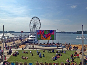 Watch a free movie each Sunday beginning at 6 p.m. at National Harbor. (Photo: National Harbor)
