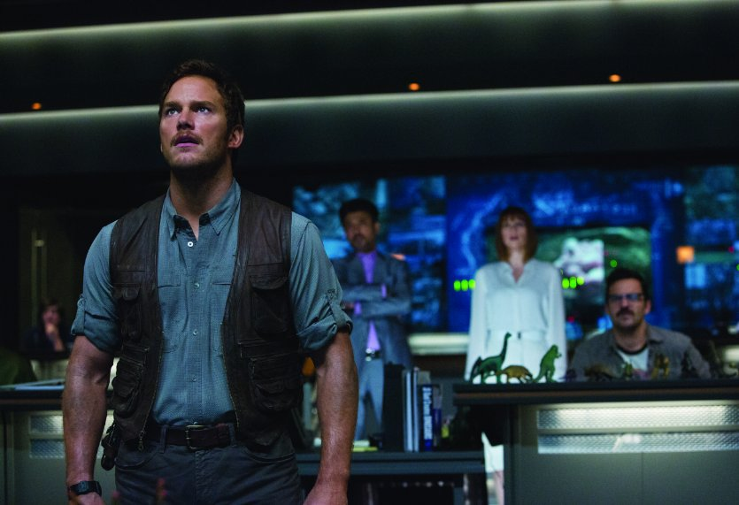 """Jurassic World"" remained on top the second weekend in a row. (Photo: Chuck Zlotnick/Universal Pictures)"
